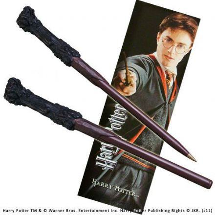 Harry Potter Wand Pen and Bookmark